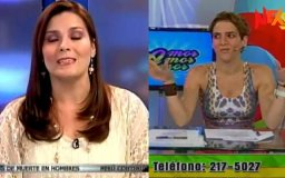 [VIDEOS] Así reaccionaron conductores de TV tras fuerte sismo
