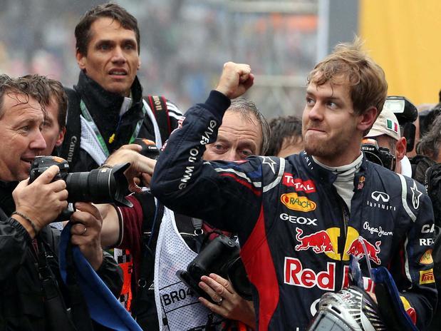 Sebastian Vettel terminó una gran temporada con más de 150 puntos sobre Alonso.