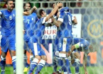 Grecia accedió al mundial Brasil 2014 al ganar su repechaje frente a Rumania.