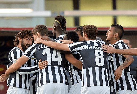 Juventus se convirtió en el nuevo líder del fútbol italiano.
