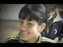 [VIDEO] Katty García cuando era colegiala y junto a Óscar Gayoso