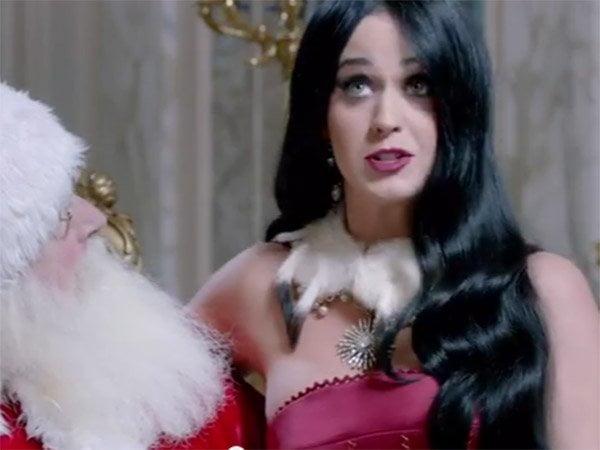 [VIDEO] Katy Perry pide a Papá Noel conocer Machu Picchu