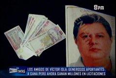 Millonarias licitaciones ganan financistas de Gana Perú y amigos de Víctor Isla