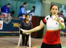 La badmintonista peruana  Daniela Macías fue la mejor en la modalidad de  individual femenino.