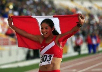 Inés Melchor le dio otro lauro al Perú en los Bolivarianos al ganar los 5 mil metros planos
