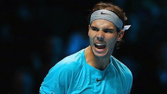 Rafael Nadal ganó su tercer encuentro y de paso llevó a Wawrinka a semifinales del ATP World Tour Finals 2013.