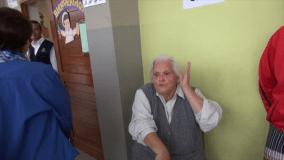 [VIDEO] Mujer cuadra a Susana Villarán porque no hizo cola para votar