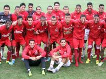 La selección peruana sub 18 tiene el objetivo de conseguir la medalla de oro en los  Juegos Bolivarianos.