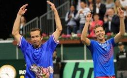 Los checos quedaron a un solo partido de repetir el campeonato de Copa Davis.