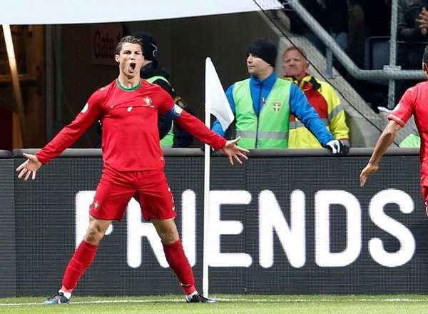 [VIDEO] Tres goles de Ronaldo llevan a Portugal a Brasil 2014