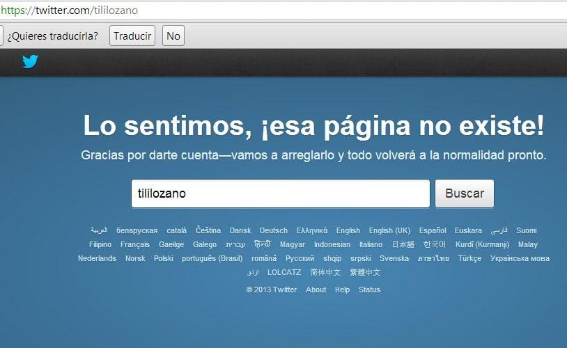 ¿Loco hackea a Tilsa Lozano?: Desaparece de Twitter y Facebook