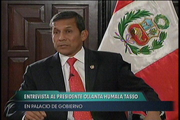 Ollanta Humala sobre caso López Meneses: