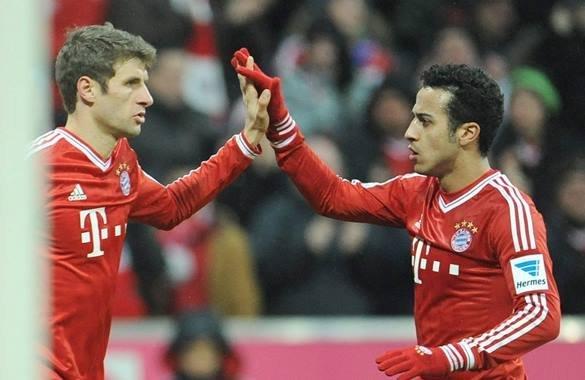 Bayern Munich cerró la primera etapa de la actual Bundesliga  en la cima de la clasificación.