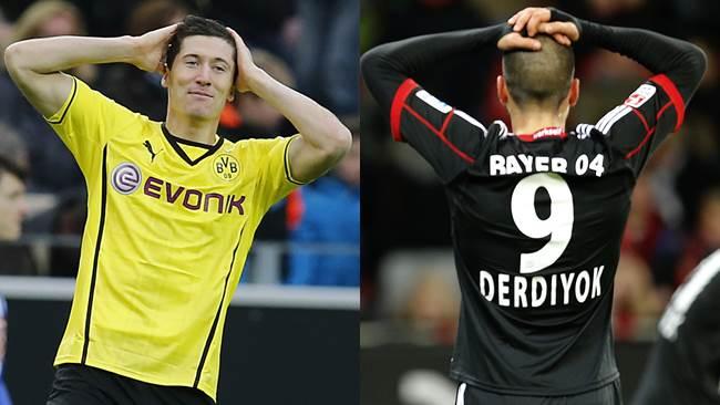 Borussia Dortmund y Bayer Leverkusen jugaron para el reciente campeón mundial Bayern Munich.