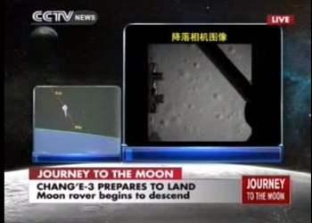 [VIDEO] China llegó a la Luna con nave Chang E3 y prepara recorrido con robot