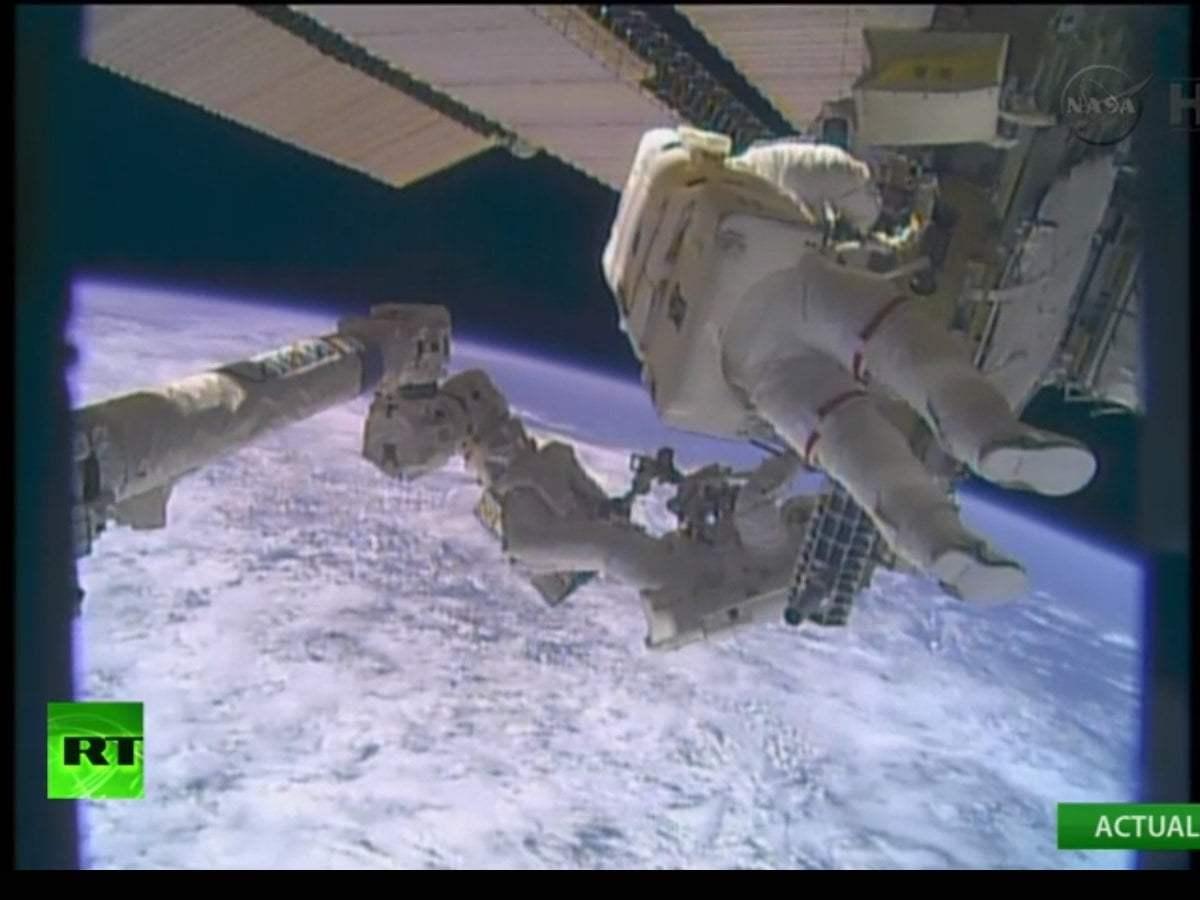 EN VIVO: Astronautas de la EEI emprenden una caminata espacial
