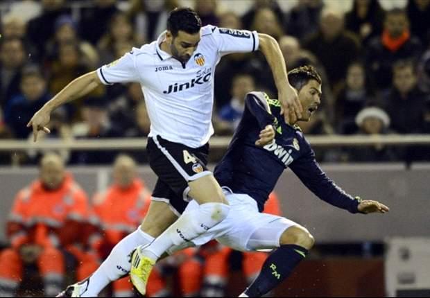 El partido entre Valencia y Real Madrid será el encuentro más sugerente de la 17° jornada en España.