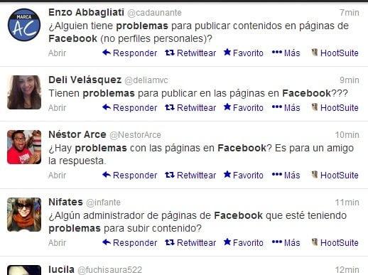 Facebook: Usuarios reportan fallas y errores en publicación de contenidos