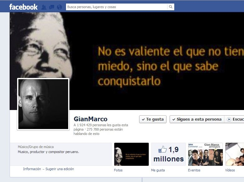 Gian Marco volvió a Twitter y Facebook tras polémico incidente