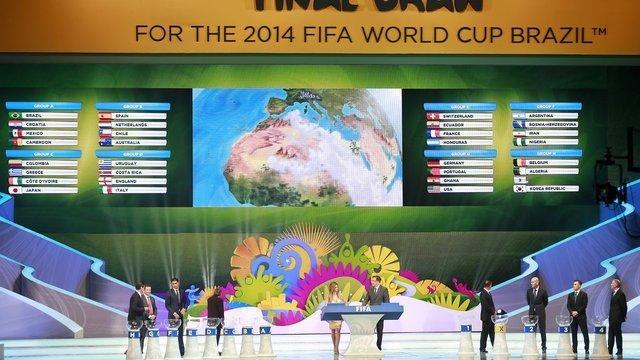 El complejo Costa do Sauipe fue el escenario del sorteo del mundial Brasil 2014 realizado hoy.
