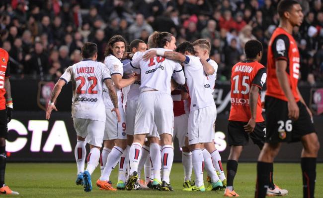 Paris Saint Germain celebró otro triunfo en la Liga francesa.