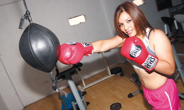 Linda Lecca tiene la gran oportunidad de hacer historia en el boxeo peruano cuando pelee por el título mundial supermosca el próximo 4 de enero.