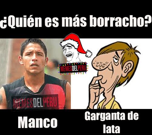 [FOTOS] Reimond Manco: Salen memes tras borrachera de futbolista