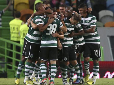 Sporting de Lisboa volvió a la punta del campeonato portugués.