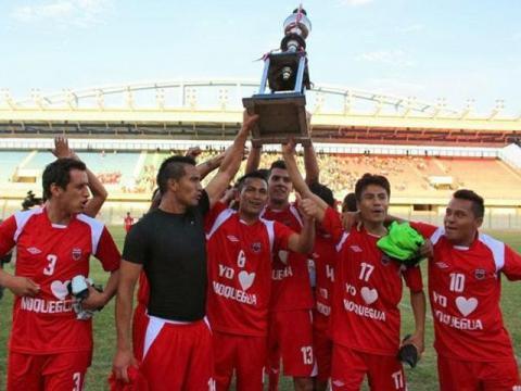 San Simón jugará en la primera división del fútbol peruano en el 2014.