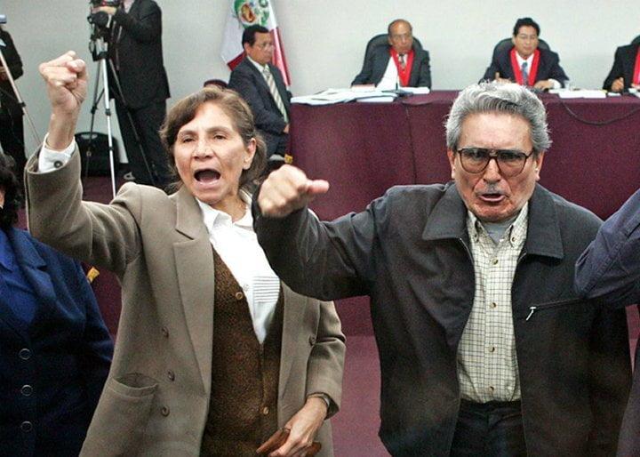 Terrorista Abimael Guzmán y cúpula de SL se reúnen hoy en juicio oral
