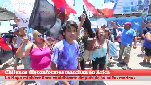 [VIDEO] Violenta protesta en Arica y piden expulsar a peruanos
