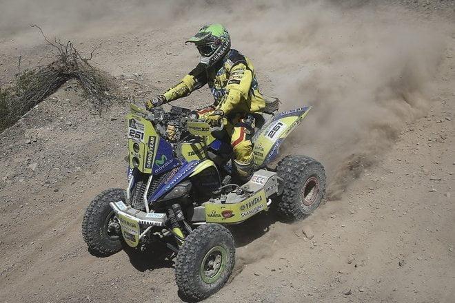 El chileno Ignacio Casale se mantiene sólido en la punta de quads (cuatriciclos).