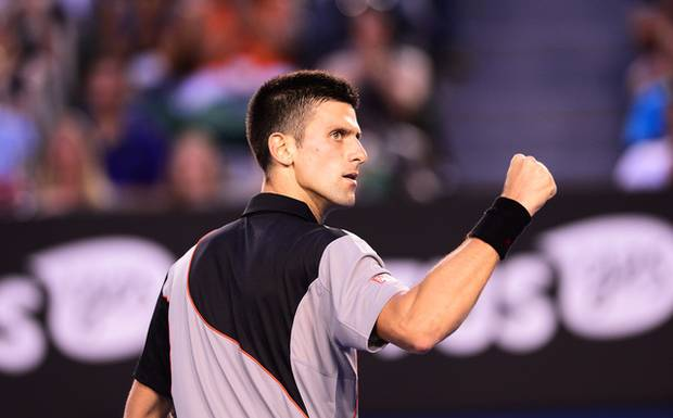 Djokovic consolidó su triunfo  sobre Mayer blanqueándolo en un set.