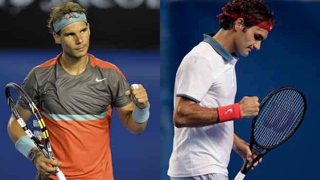 Nadal y Federer disputarán un nuevo clásico por el pase a la final del Grand Slam australiano.