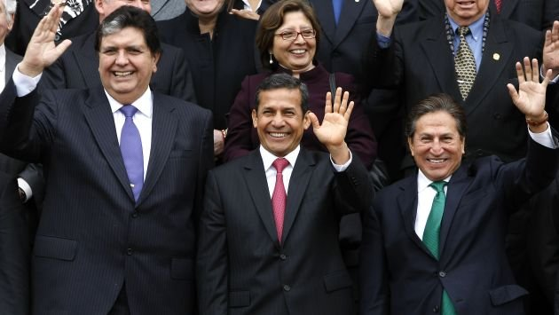 Ollanta Humala, Alan García y Toledo juntos ad portas de fallo en la Haya