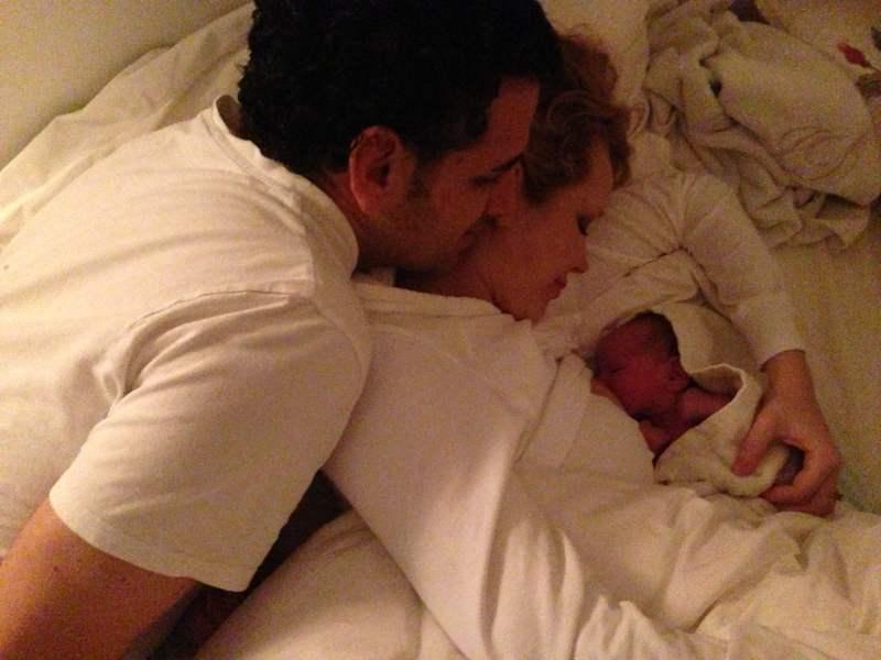 [FOTO] Hija de Juan Diego Florez llegó con el Año Nuevo 2014