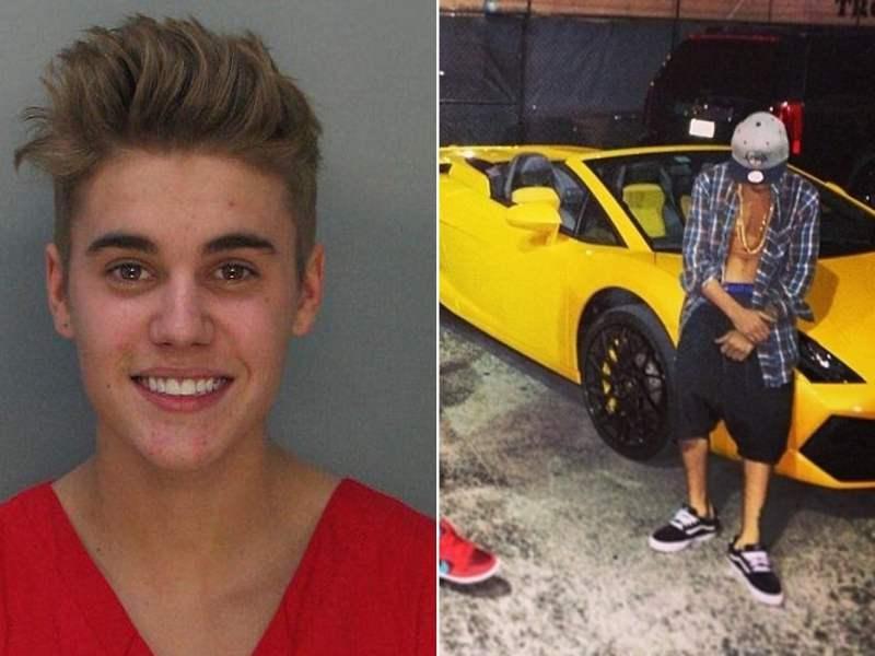 FICHADO: Justin Bieber sonríe en foto policial y con uniforme de detenido