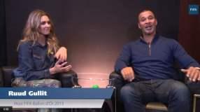 [VIDEO] Balón de Oro: Gullit le dice a Fernanda Lima que su favorito es Ronaldo