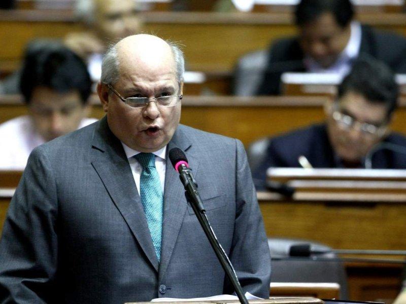 """Ministro Cateriano no identificó a interlocutor en audio de la """"luz verde"""""""