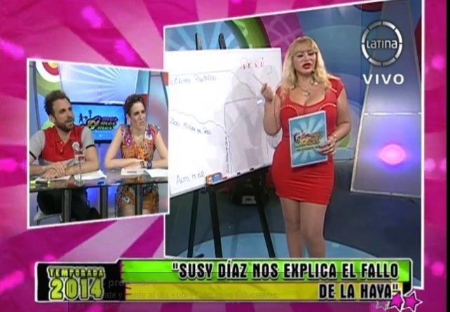 """Susy Díaz sobre la Haya: """"Ahora los peces deben ponerse camiseta peruana"""""""