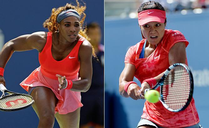 Serena Williams y Na Li podrían encontrarse en semifinales.