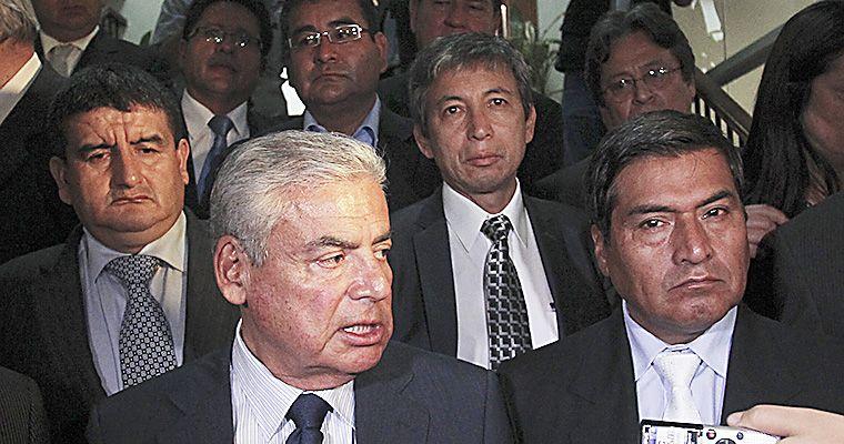 "FOTO El Peruano / Villanueva: ""El Ejecutivo coordina con Nadine Heredia pero debilita la institucionalidad"""