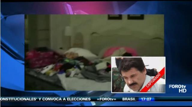 [VIDEO y FOTO: Foro tv] Chapo Guzmán: Esta es la casa donde detuvieron al narco