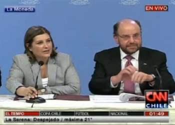 Foto y video CNNChile / Cita del 2+2 entre Perú y Chile termina sin aclaraciones sobre triángulo terrestre