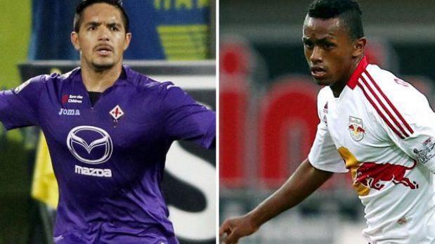 La Fiorentina de Juan Vargas y el Red Bull Salzburgo de Yordy Reyna  jugarán los octavos de final de la Europa League.