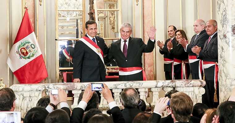Foto: El Peruano / Ministros de Ollanta Humala se duplican el sueldo con Ley del Servicio Civil