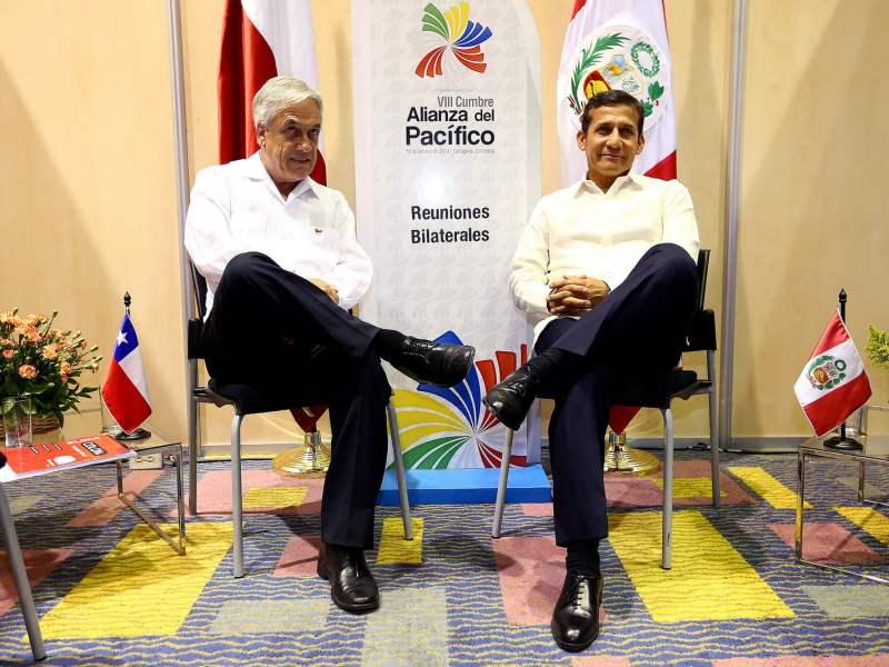 """FOTO: Palacio de Gobierno / Ollanta Humala: """"Triángulo terrestre es peruano y Chile no envió nota de protesta"""""""