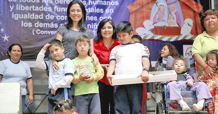 Foto El Peruano / Nadine Heredia pone en su sitio al premier Villanueva