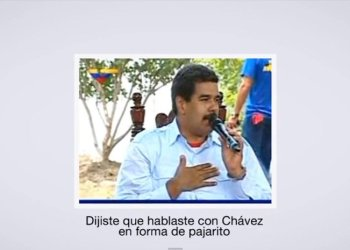 La jocosa película de Facebook de Nicolás Maduro la rompe en Youtube