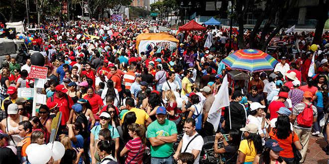 FOTO Globovisión / [EN VIVO] Venezolanos marchan nuevamente contra represión del chavismo